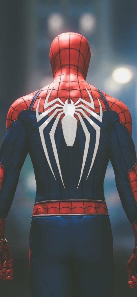 iPhone X Wallpaper Screensaver Background 184 Spiderman 4k ...