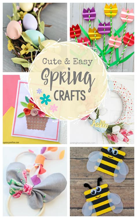 spring craft ideas crazy  projects