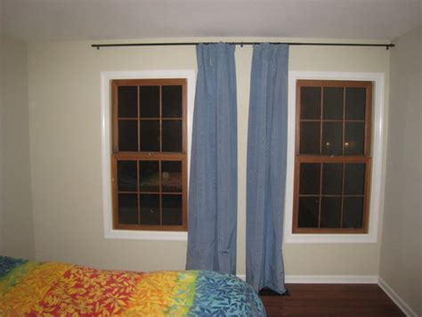 curtain for a window next to a wall with regard to wall to