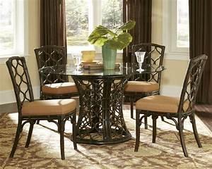 Round Glass Dining Room Sets Marceladick com