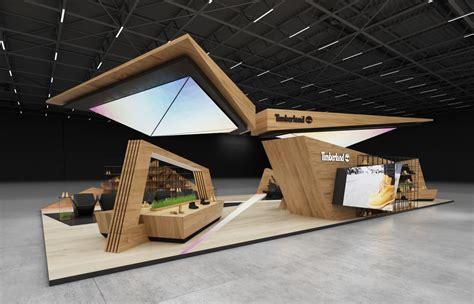Timberland exhibition stand design     GM stand design