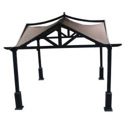 Sams Club Patio Furniture Set by Allen Roth 10 X 10 Asian Style Garden Gazebo From Lowes