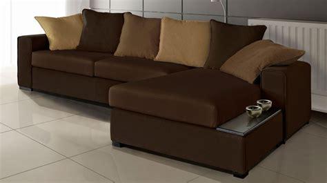 canapé d angle marron pas cher canapé d 39 angle en tissu marron canapé pas cher