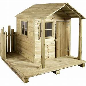Maison De Jardin En Bois Enfant : maisonnette en bois brico ~ Dode.kayakingforconservation.com Idées de Décoration
