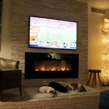 alclx electric fireplace installed   traditional