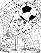 Football Coloring Pages Soccer Printable Ball Coloringpages1001 Voetbal sketch template