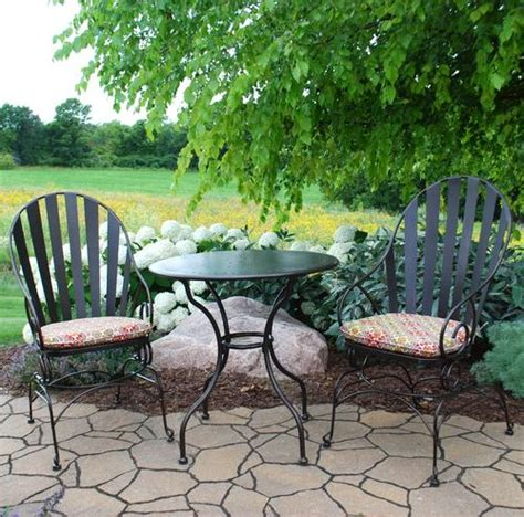 backyard creations 3 piece cedar creek bistro collection