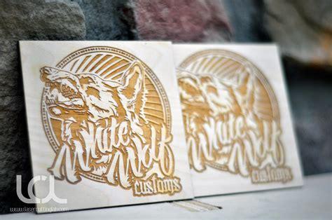 laser engraved birch business cards