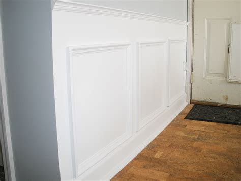 Wainscoting Pictures Is A Stylish Way To Add