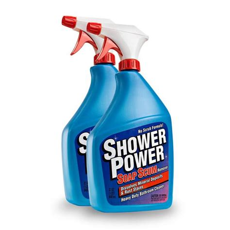 buy shower power bathroom cleaner soap scum remover