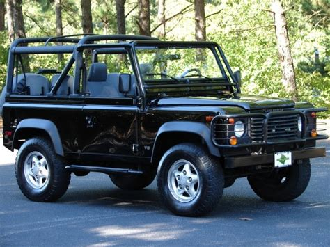 1997 land rover defender 1997 land rover defender 90 soft top auto eye candy
