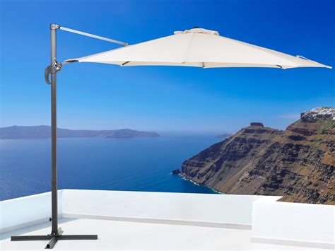 cantilever patio umbrella white savona