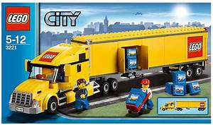 City   Lego Delivery Truck Instructions 3221  City