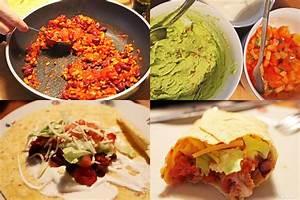 Wraps Füllung Vegetarisch : tortilla wraps brittas kochbuch ~ Markanthonyermac.com Haus und Dekorationen