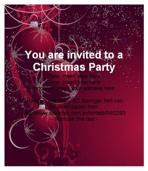 Free Invitation Template Cimvitation