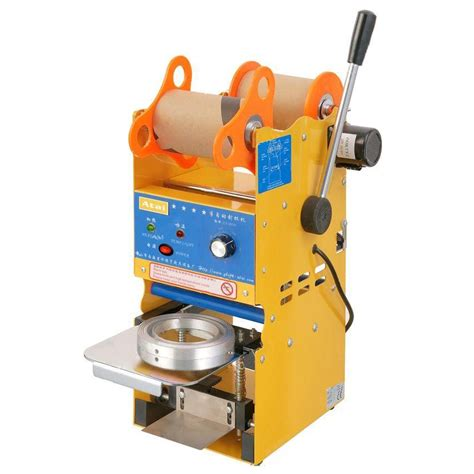 buy  cupsh semi automatic boba bubble tea cup sealing machine plastic