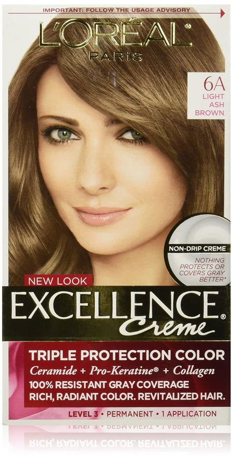 loreal colors l or 233 al excellence cr 233 me permanent hair