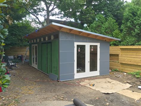 From The Shed by 12 X24 Studio Shed An Installer S View