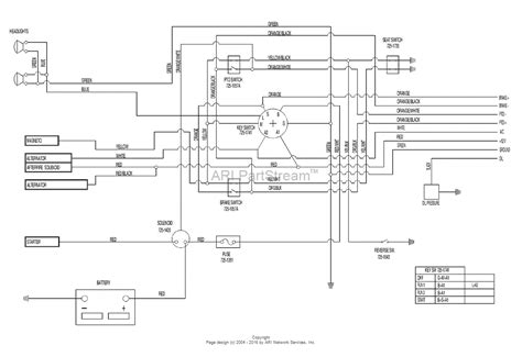 Huskee Mower Electrical Diagram by Mtd 13au607h131 2000 Parts Diagram For Electrical