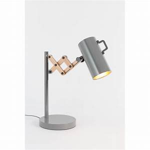 Lampe à Poser Bois : lampe poser bois m tal flex zuiver ~ Teatrodelosmanantiales.com Idées de Décoration