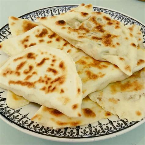 recette cuisine turc gözleme crêpe turque farcie aux poivrons et kefta gratinez