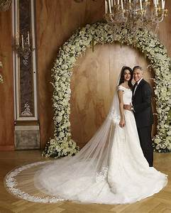 Best celebrity wedding dresses 2014 popsugar fashion for Celebrity wedding dress