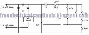 120 Vac Dimmer Lamp Circuit