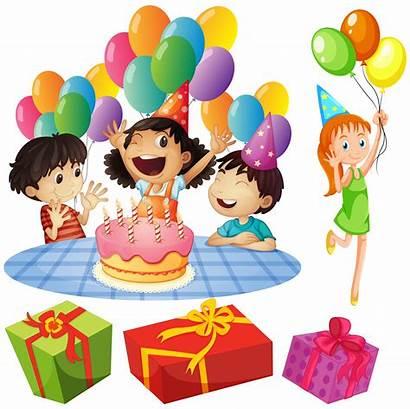 Birthday Party Balloons Presents Vector Clip Balloon
