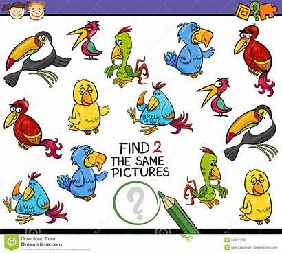 Same Cartoon Finding Play Illustration Comics