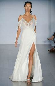 38 striking wedding dresses with slit With wedding dresses with slits