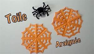 Deco Halloween A Fabriquer : diy d co halloween toile d 39 araign e en papier youtube ~ Melissatoandfro.com Idées de Décoration