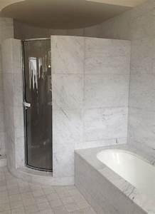 Salle De Bain Marbre Blanc : awesome salle de bain en marbre blanc villa cavrois with salle de bain marbre blanc ~ Nature-et-papiers.com Idées de Décoration