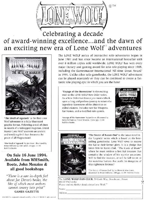 legends of lone wolf omnibus 3 series legends of lone wolf demian 39 s gamebook web page
