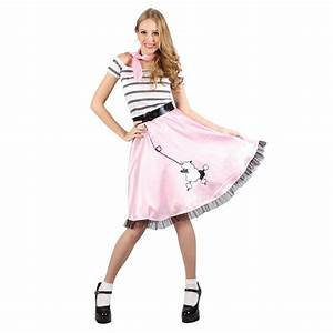 Rock n Roll Dress 1950s Ladies Fancy Dress Grease Fifties Womens Costume Outfit | eBay