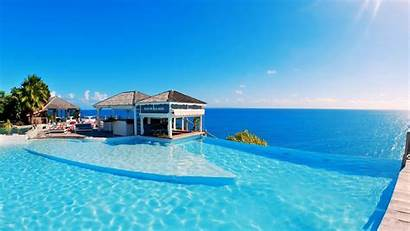 Maldives Resort Wallpapers Package Tour Tapety Piscine