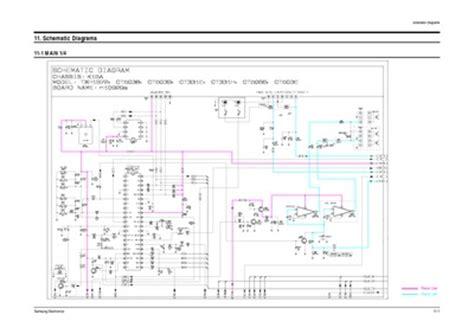 samsung ct331ebzx chasis k15a service manual repair schematics