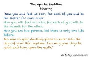 Apache Wedding Blessing Ceremony
