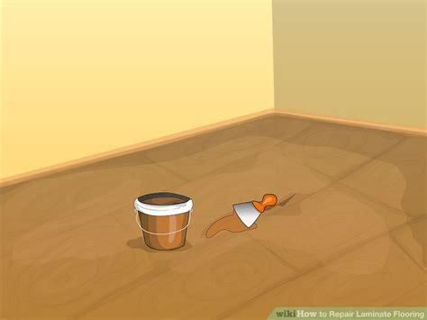 3 Ways to Repair Laminate Flooring   wikiHow