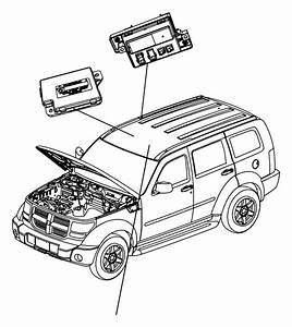 2008 Jeep Liberty Module  Full Open Roof Ecu  Trim    O0