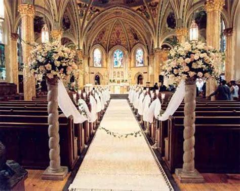 church wedding decorations ideas  pinterest