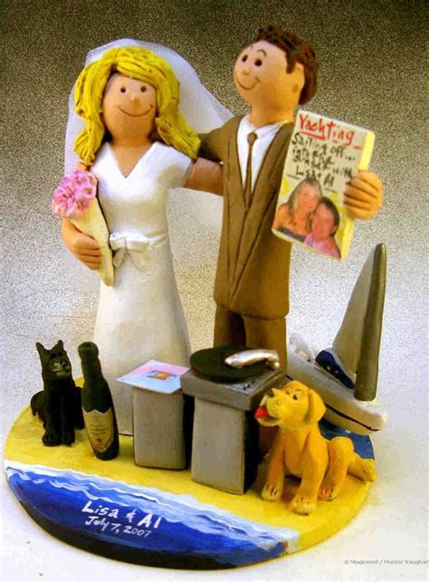 1000 Images About Beach Destination Wedding Cake Toppers