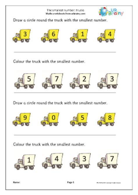 smallest number trucks ordering numbers