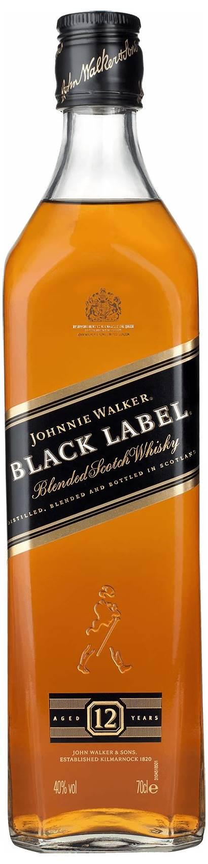 Walker Label Johnnie Whisky Drinks Ginger Ale