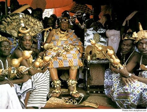 The Ashanti Golden Stool - the golden stool a throne with a throne of its own