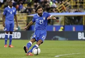 Andrea Pirlo Pops Gorgeous Freekick In Top Corner As Italy ...