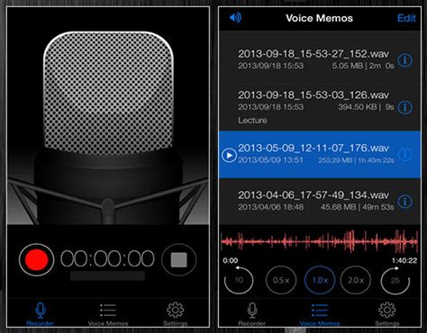 iphone recording app top 20 voice recording apps for iphone top apps Iphon