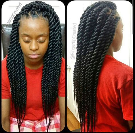 Twist Weave Hairstyles by Chunky Senegalese Twists Protective Hair Styles Can Be
