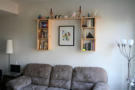 Wall Hung Bookshelf by Custom Made Wall Hung Bookshelf La Casa De Crafts