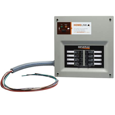 Generac Upgradeable Manual Transfer Switch For Circuits