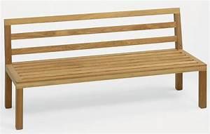 Gartenbank Teak 3 Sitzer : gartenbank 3 sitzer ohne armlehne bestseller shop mit top marken ~ Bigdaddyawards.com Haus und Dekorationen